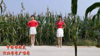 绿色田园里,神清气爽,青青和婶子跳广场舞真高兴