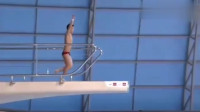 中国跳水的恐怖程度,杨健这一跳不见水花,裁判都不敢给分