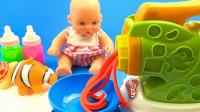 趣味过家家亲子游戏,早教启蒙创意DIY意大利面学习颜色啦!