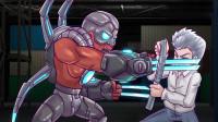 火线传奇:刀锋看穿小红的攻击方式,拿着钢板,挡下幽灵母体攻击