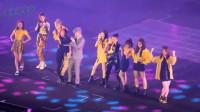 张杰和火箭少女101合唱《卡路里》,能让原唱唱成伴舞的只有杰哥