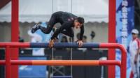 看得热血沸腾!军运会潘玉程500米障碍跑破世界纪录,像子弹飞一样