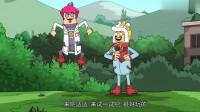 搞笑吃鸡动画:博士的新发明跳跳鞋上线,达达吐槽香肠岛成了儿童乐园!
