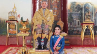 不到3个月!泰王室剥夺王妃诗妮娜全部头衔:她对泰王不忠