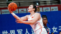 军运会-中国女篮48分大胜美国 取得三连胜