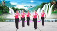 阳光美梅原创广场舞【谁-DJ】原创网红步子舞附教学-编舞:美梅