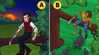 脑力推理:坐在树上的两个男人,哪一个人能活下来?