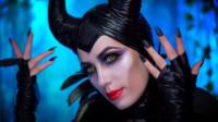 沉睡魔咒仿妆秀:女子挑战邪恶王后妆容你觉得像吗?
