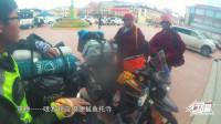 川西的藏族喇嘛也懂摩托车?我们在色达就遇到了,他们骑的比我们还溜!