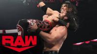 【RAW 10/21】轻量级小将初登RAW擂台 高飞技术惊艳了赛斯罗林斯