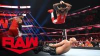 【RAW 10/21】街头小子vsOC AJ干扰比赛被罚离场 凯文现身祭断头台