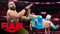【RAW 10/21】安德瑞对战辛卡拉 几次出招收效甚微 泽莉娜偷偷助攻
