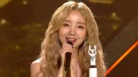 Lovelyz金智妍solo出道韩秀榜新舞台,清新甜美又有共鸣