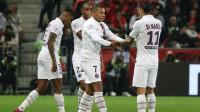 欧冠-姆巴佩戴帽伊卡尔迪2球 巴黎5-0大胜布鲁日