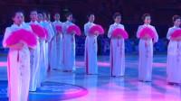 华美优雅的金狐杯国标舞比赛开幕式模特秀《国色天香》