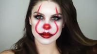 美女仿妆小丑妆容:化妆打扮后你觉得漂亮吗?