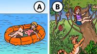 推理动画:这两个女人遇到危险,哪一个人会死?
