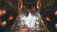 24Frames | 婚礼电影 白墨水巴黎歌剧院婚礼