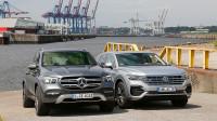 德系中大型SUV对比 大众汽车途锐对比梅赛德斯-奔驰GLE