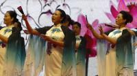 天坛周末15138 模特表演《春雨桃花情》廊坊秋水红模特艺术团