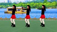 广场舞《浏阳河》歌声大气悠扬,简单又好看