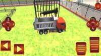卡通工程车挖土运输建造池塘小游戏亲子玩具