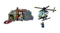 LEGO乐高积木玩具城市系列60131盗贼岛套装速拼