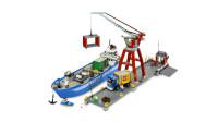 LEGO乐高积木玩具城市系列7994海运码头套装速拼