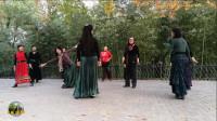 紫竹院广场舞,花絮,新舞是这样学成的