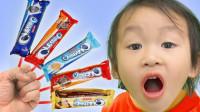 太棒了!萌宝小萝莉怎么悄悄吃了很多饼干?可是牙齿为何不舒服?学色彩英语儿童早教益智亲子游戏玩具故事