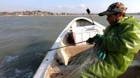 阿雄在海上风浪突然加强,收完海鲜急忙去卖,大风天海货格外抢手