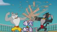 四川话猫和老鼠:猫狗在沙滩争霸,老鼠坐收渔翁之利?笑得肚儿痛
