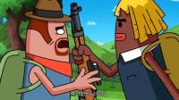 搞笑吃鸡动画:马可波竟主动送霸哥98K,又在酝酿什么计谋要坑霸哥?