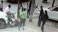 """少妇当街惨遭女司机""""切断头""""!监控拍下死亡全过程"""
