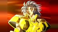 圣斗士星矢双子座黄金圣斗士加隆秒杀冥界审判长,超燃然