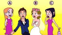 推理时间:图中3个女生,哪一个是吸血鬼?