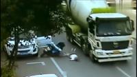 女子以这种方式死去,要不是监控,大货车的清白谁来还
