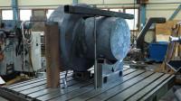 """这个""""钻头""""有4吨重,看它如何加工的,真霸气"""
