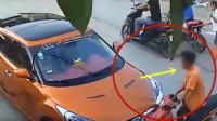 这车祸谁来负责,男子下车当场发飙!要不是监控谁会相信