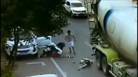女子以这种方式死去,要不是监控,谁能还大货车的清白