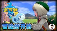 矿蛙【宝可梦剑盾】01 天降神兽!目标全宠物大师!