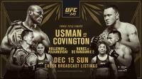【UFC245】暴力街区超燃风格!三场劲爆冠军战等你来看!
