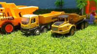 最新挖掘机视频表演1069大卡车运输挖土机+挖机工作+工程车