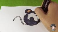 小琦简笔画 第01集 小老鼠
