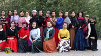 紫竹院广场舞《草原的月亮》,与天津春之韵舞蹈队共舞