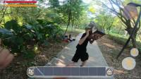 迷你世界真人版:玩家用透视眼镜买到烂枪,回去算账却被偷袭!