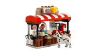 LEGO乐高积木玩具限量版系列40358憨豆先生甜甜圈店套装速拼