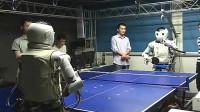 机器人和机器人打乒乓球是一种什么样的体验