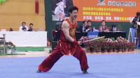 2005年第十届全运会男子武术套路预赛 男子南棍 003 陈帅(福建)