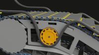 自动扶梯是如何工作的,3D动画直观展示其原理,豁然开朗
